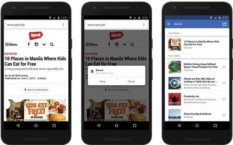 Nouveautés annoncées au Facebook F8 : bots Messenger, VR, vidéo, bouton enregistrer, partage de citations... | Usages professionnels des médias sociaux (blogs, réseaux sociaux...) | Scoop.it