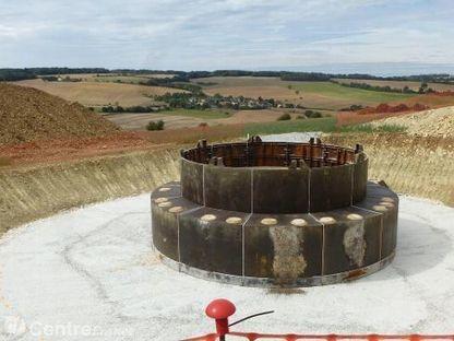 Bouhy : Les travaux du chantier éolien en photos | Revue de presse du CAUE de la Nièvre | Scoop.it