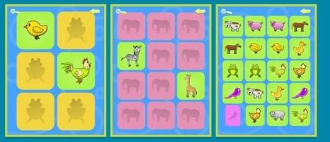 Οι Τ.Π.Ε. στην εκπαίδευση: Παιχνίδι μνήμης με ζωάκια | IMA-EDU.GR | Scoop.it