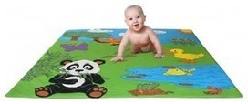 Panda Mat, Large Soft Tummy Time Mat For Babies Learning To Crawl - contemporary - kids rugs - by ABE'S MARKET | Love My Baby | Scoop.it