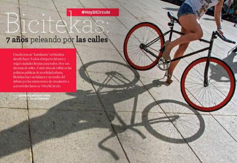 Bicitekas: 7 años peleando por las calles | Periodismo cultural narrativo (crónica, reportaje, entrevista y nuevos formatos) | Scoop.it