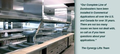 Commercial Application Of Dumbwaiter | Home And Residential Dumbwaiters | Scoop.it