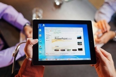 CES 2012 : Windows 7 virtualisé sur iPad 2 | mlearn | Scoop.it