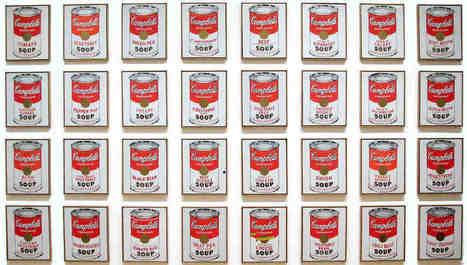 #218 ❘ Campbell's soup cans ❘ 1962 ❘ Andy Warhol   # HISTOIRE DES ARTS - UN JOUR, UNE OEUVRE - 2013   Scoop.it