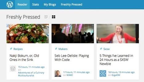 L'avenir des blogs d'après WordPress : des articles longs & des publicités mieux intégrées | Social and digital network | Scoop.it