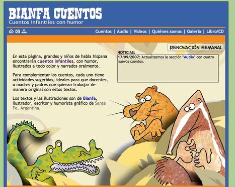Cuentos infantiles con humor | Bianfa Cuentos | Primeros lectores... | Scoop.it