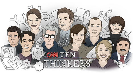 CNN names the top 10 thinkers of 2013, 7 of them have given TED Talks | TED Blog | Discover and share the use of Information and Communications Technology in education. | Scoop.it