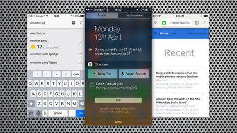 Chrome for iOS Gets Notification Center Search and Pull to Refresh | Tools You Can Use | Scoop.it