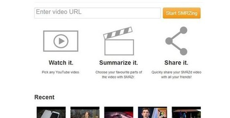SMRZr, comparte solo los fragmentos de YouTube que te interesan | Animación y Vídeo Digital | Scoop.it