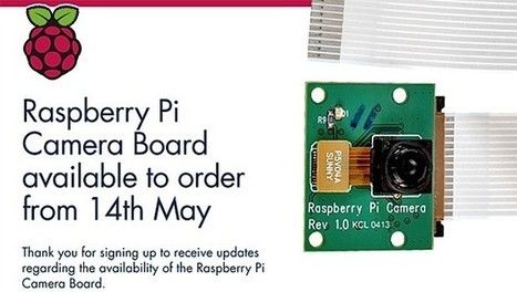 Raspberry Pi camera module comes to the UK May 14th, lands early for some - Engadget   Raspberry Pi   Scoop.it