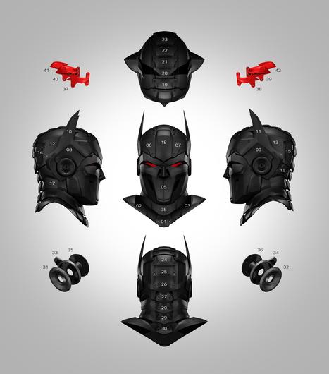 Imprimer en 3d le masque de super héros Zortrax | La veille de l'atelier | Scoop.it
