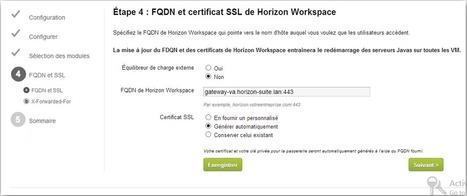 Horizon Workspace Part 1 : Premier déploiement | End User Computing | Scoop.it