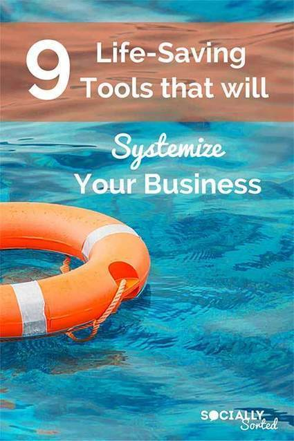 9 Life-Saving Tools that Will Systemise Your Business | Business Improvement | Scoop.it