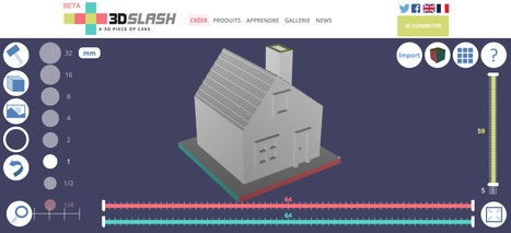 3D SLASH, la modélisation 3D pour tous | Software innovations | Scoop.it