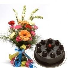 Multiflower Cake Delight - Cakes | Trendy Dresses | Scoop.it