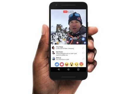Vidéo en direct : les nouveautés de Facebook Live, en cours de déploiement sur tous les comptes | Usages professionnels des médias sociaux (blogs, réseaux sociaux...) | Scoop.it