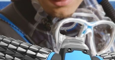 Scuba Mask with Rebreathable Oxygen | Cool New Tech | Scoop.it