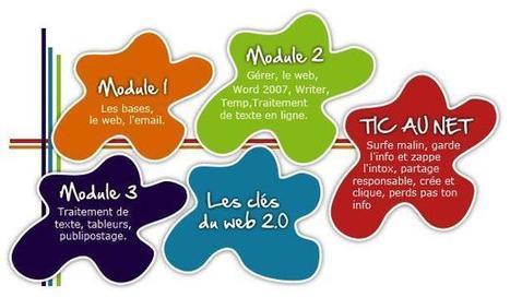 5 modules de formation en ligne complets informatique et Internet, Web 2 et réseaux sociaux (PMTIC) | Formation en ligne des demandeurs d'emploi | Scoop.it