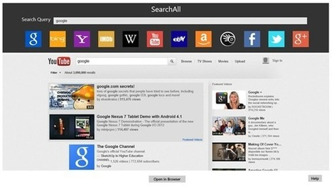 All-in-One Search App for Windows 8 | Time to Learn | Scoop.it