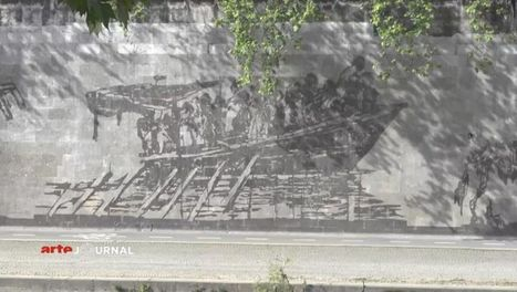 William Kentridge grave l'histoire de Rome sur les rives du Tibre | L'ARTichaut | Scoop.it