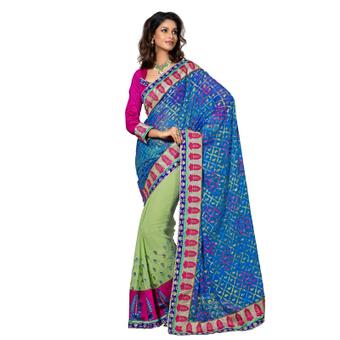 Brasso Saree   Buy Online: Indian Products, Dresses, Sarees – NriBestBuy   Scoop.it