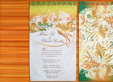 Wedding Invitations | Fabulous Weddings | Scoop.it