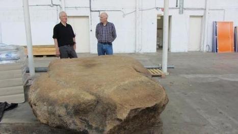 Archéologie : Des gravures sur un menhir intriguent les scientifiques - maville.com | Histoire et Archéologie | Scoop.it