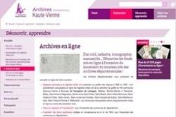 Haute-Vienne : trente communes supplémentaires en ligne ! | Rhit Genealogie | Scoop.it