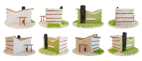 10 Sweet Designs From Architizer's Gingerbread Competition | PROYECTO ESPACIOS | Scoop.it