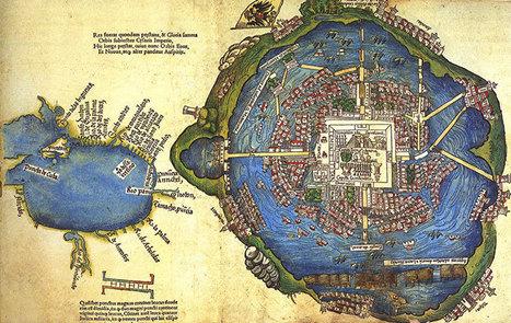 Este es el mapa mas antiguo de la Ciudad de México... y es precioso - Más de Mx   Palimsesto   Scoop.it