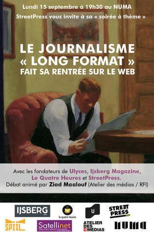 Le journalisme « long-format » fait sa rentrée | Media, Journalism, Communication, Social Media | Scoop.it