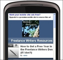 Go Mobile or Die - The Smartphone is the Internet Marketer's Best Friend   Freelance Writers Resources   An Expat Freelance Writer's Thoughts   Scoop.it