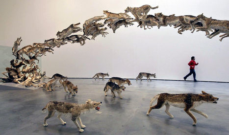 Cai Guo-Qiang: Head On | Art Installations, Sculpture, Contemporary Art | Scoop.it