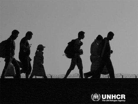 Les réfugiés et déplacés dans le monde en 2015, rapport HCR - Géoconfluences | Quoi de neuf sur le Web en Histoire Géographie ? | Scoop.it