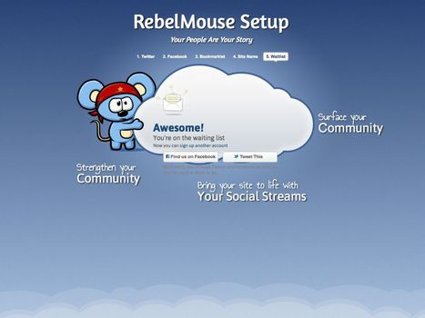 A First Look At RebelMouse, The New Startup From The Technical Genius Who Helped Build The Huffington Post | Social-Media-Storytelling | Scoop.it