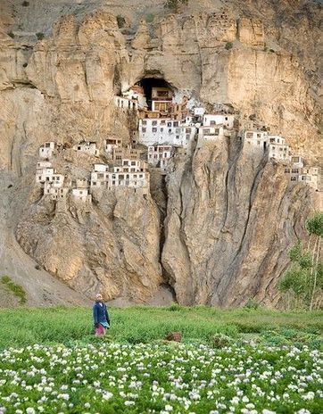 Phugtal Gompa Monastery Is The Most Beautiful on Earth | Roads Less Travelled | Scoop.it