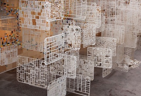 Stunning Installation Represents Life in Abstract Patterns | art et machines | Scoop.it