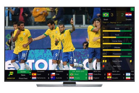 Pixie is the smart TV ticker you'll actually like, especially during the World Cup - TechHive | Richard Kastelein on Second Screen, Social TV, Connected TV, Transmedia and Future of TV | Scoop.it