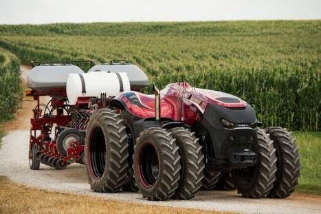 Tracteur autonome: les fermiers pourront se coucher à l'heure des poules | Grain du Coteau : News ( corn maize ethanol DDG soybean soymeal wheat livestock beef pigs canadian dollar) | Scoop.it