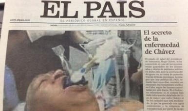 Venezuela emprenderá acciones legales contra El País por difundir foto falsa de Hugo Chávez - Periodistas en Español | Periodismo en español | Scoop.it