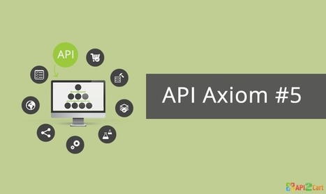 Axiom #5: Organizations Must Consume Core Competences of others through APIs | API Integration | Scoop.it