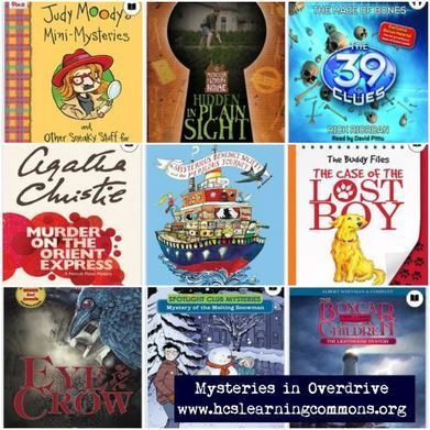 Mysteries in Overdrive | HCS Learning Commons Newsletter | Scoop.it