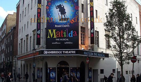 Spell binding Matilda The Musical at Cambridge Theatre London | Matilda the musical tickets | Scoop.it