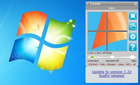 Grabilla, un programa gratuito para crear gifs, vídeos y pantallazos | E-Learning, M-Learning | Scoop.it