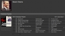 Obama shows further mastery of social by tweeting Spotify campaignplaylist | Oups, I am Wired | Scoop.it