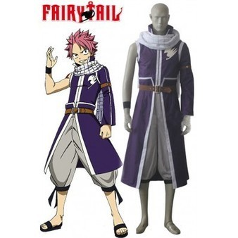 Fairy Tail Natsu Dragneel Cosplay Costume | cosplay costumes | Scoop.it
