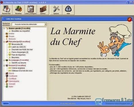 Thème 50 : 5 logiciels gratuits pour cuisiner avec son PC | Thèmes | Scoop.it