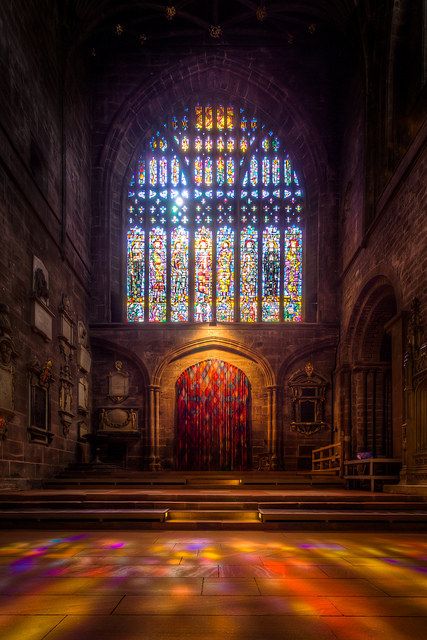 Stained Glass Window in Chester Cathedral (9x exposure HDR) | Stained Glass | Scoop.it