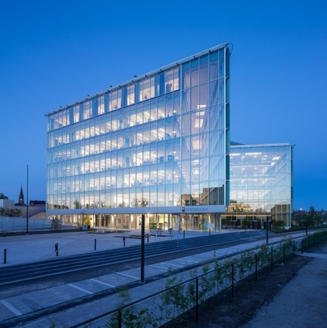 The Greenest City Hall in Sweden / Christensen & Co Architects | sustainable architecture | Scoop.it