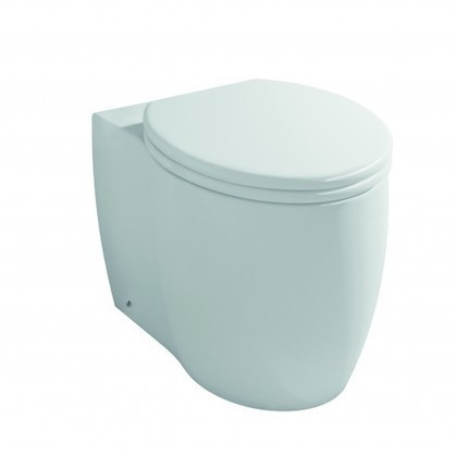Yin BTW WC Toilet Pan with Soft Close Seat | Interior Design Doctor | Scoop.it
